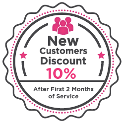 New customers discount